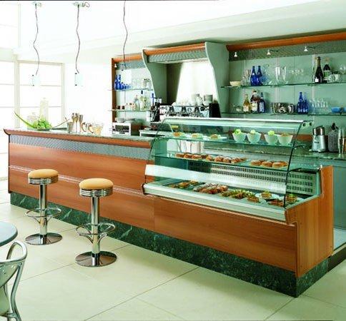 Bancone bar bb01001 dimensione comunit s r l for Banchi bar e arredamenti completi