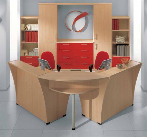 Reception angolare da ufficio cm01003 dimensione for Reception da ufficio